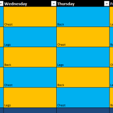 5 Week Program